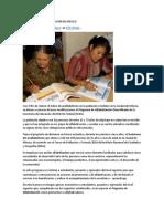 Programa de Alfabetización en México