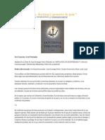 Artículo de Francisco José Pestanha. Pueblo Doctrina y Proyecto de País.