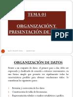 III. Organizacion de Datos