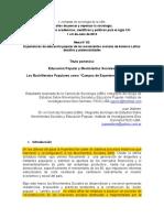 7. Aguiló y Wahren (2013). Educación Popular y Mov Imientos Sociales