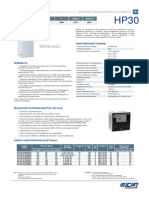 Scheda Tecnica MINImatic HP30