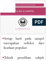 POPULASI & SAMPEL