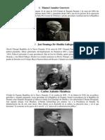 Presidentes de Panama