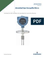 Medidores de Densidad Tipo Horquilla Fork Density Meter SPANISH Es 62180