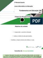 Origem da educação brasileira.pdf