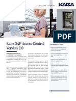 Access Control With Sap and b Comm Erp