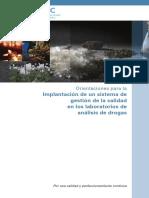 Orientaciones para la Implantacion de un sistema de gestion de la calidad en los laboatorios de analisis de drogas.pdf