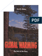Gerd R. Weber (1992) Global Warming - the rest of the Story