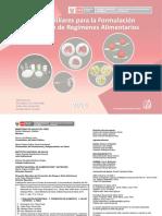 Tabla-De-medidas-caseras, Tablas Auxiliares Para La Formulacion y Evaluacion de Regimenes Alimentarios