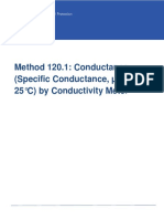 EPA Method 120.1(Conductance)