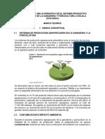 Proyecto de investigación GENERACIÓN DE UNA ALTERNATIVA EN EL SISTEMA PRODUCTIVO AGROPECUARIO DE LA GANADERIA Y PORCICULTURA A ESCALA ECOLÓGICA