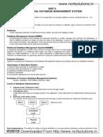 05 Notes Relational Database Management System