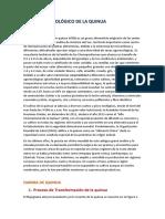 Proceso Tecnológico de La Quinua