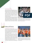 RSE- Reportaje Compañía General de Electricidad (CGE) (treceavo lugar, acreditación MENCIÓN HONROSA) y Minera El Tesoro (catorceavo lugar, acreditación MENCIÓN HONROSA) Reportaje Revista Qué Pasa Ranking Nacional RSE PROhumana 2010