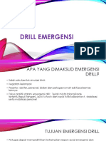 Drill Emergensi