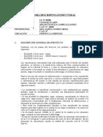 14 Memoria Descriptiva Arquitectura, Estructuras, i.elect, i. Sanit (1)