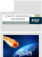 Comets & Asteroids