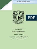 UNIDAD 2 Actividad 5 Investigación Bibliográfica Fecha de Entrega 13 Al 26 de Marzo de 2017 Para Enviar