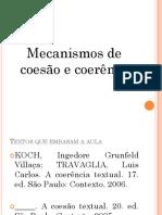 COESÃO-COERENCIA.ppt