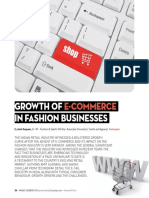 Growth of E-commerce in Fashion Businesses - IMAGES YEARBOOK 2016