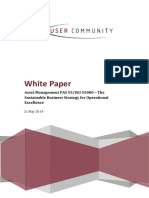 Asset Management PAS 55 ISO 55000
