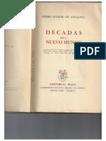 Pedro Mártir, tapir y piña
