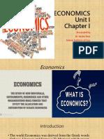 1 Unit I Economics