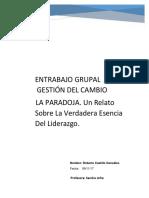 Ensayo - LA PARODIA