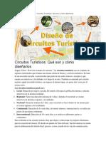 Como Crear Un Circuito Turistico
