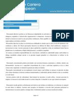 Exemplu Raport Testcariera.ro