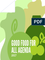 Good Food for All Agenda 2017