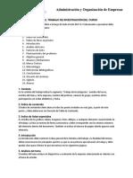 Guía Del TI - Administración y Organización de Empresas 2017-2
