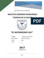 El Matrimonio Gay