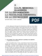 3 Aprendizaje Memoria y Procesamiento de La Informacic3b3n