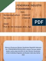 Proposal Pendirian Industri Fitofarmaka