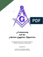 Freemasonry & the Ancient Egyptians