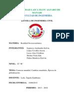 06-15 - 2015 Contexto Mundial, Cambios Mundiales, Épocas de Globalización.