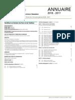 Universidad de Sherbrooke - Certificat en Histoire Du Livre Et de l'Edition (Temario)