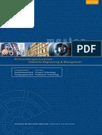 Broschuere MA Wirtschaftsingenieurwesen