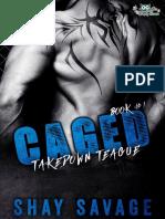 Caged 1 - Shay Savage