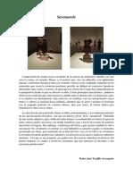 Objeto 1. Pedro J. Trujillo Dubuffet