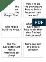 oregon trail questions pt 2