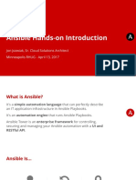 Ansible Hands on Introduction