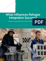 What Influences Refugee Integration Success?