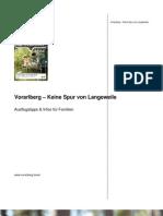 Vorarlberg – Keine Spur von Langeweile