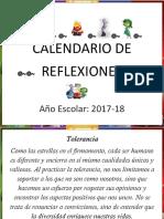 Calendario de Reflexiones Inside 2017 2018
