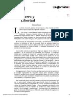 La Jornada_ Tierra y Libertad