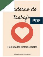Cuaderno Trabajo Habilidades Heterosociales
