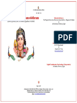 Prayer Book Sanskrit Stothras   Hindu Deities   Hindu Mythology