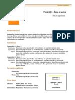 Curriculum Vitae Modelo1b Naranja